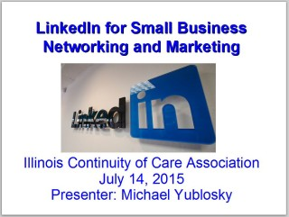 LinkedIn Slideshow Illinois Continuity of Care Assoc 7-14-15
