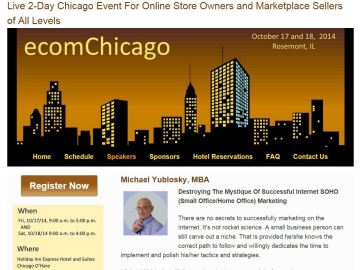 Michael Yublosky at ecomChicago